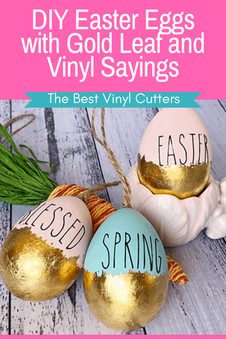 The Best Vinyl Cutters DIY Easter Eggs