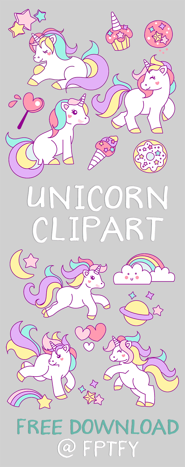 free unicorn graphics to download