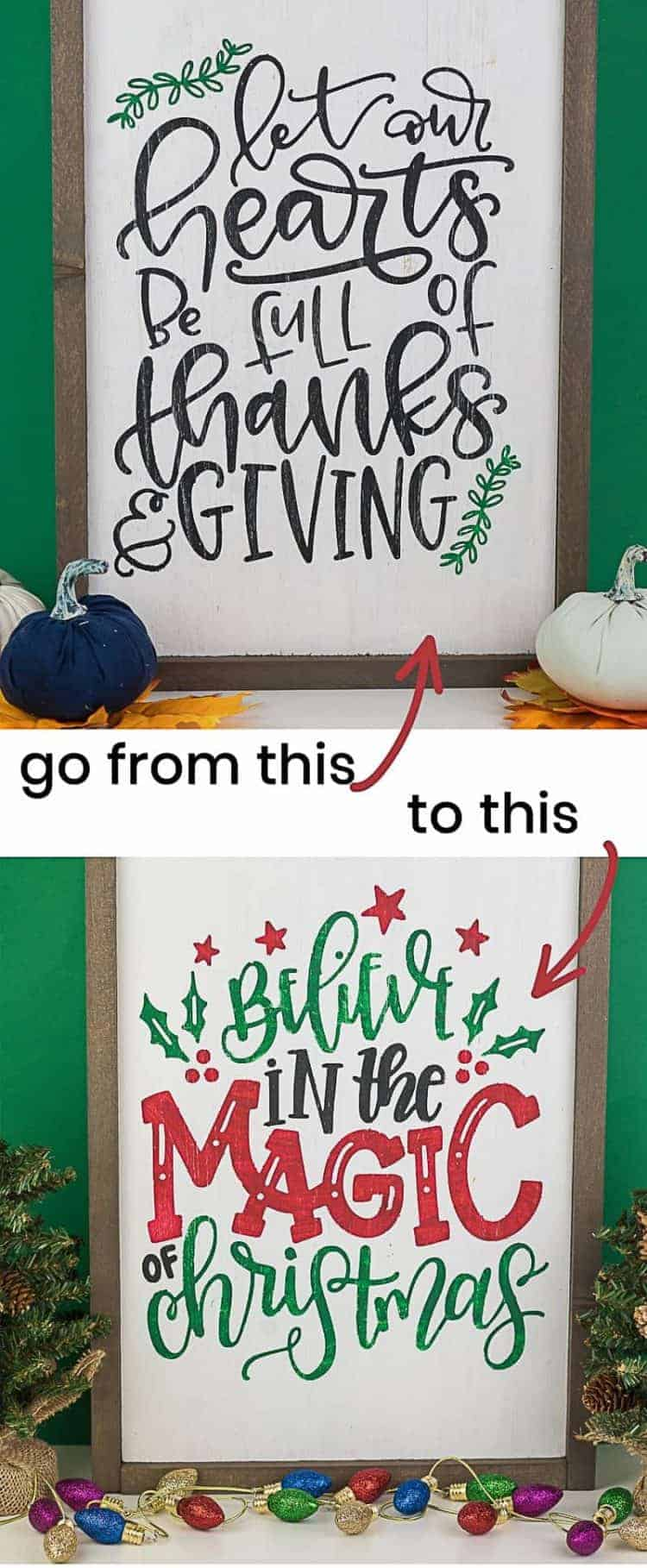 homemade wooden signs