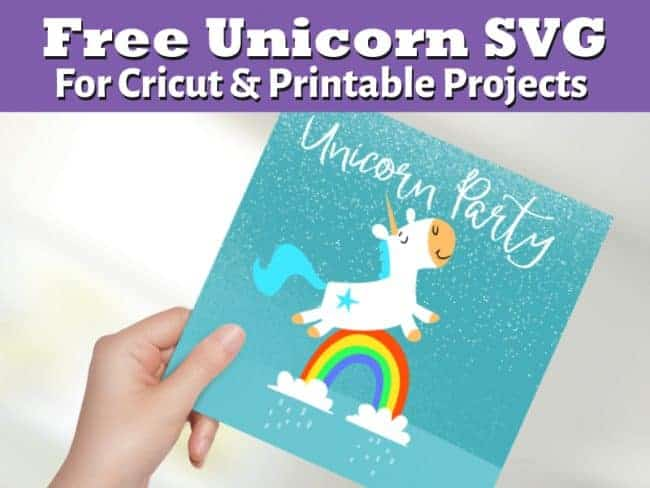 Unicorn Horse SVG Free File