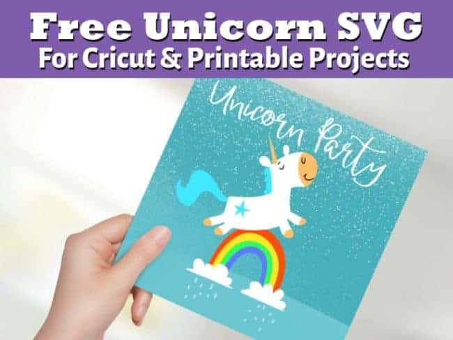 Unicorn Horse SVG Free File
