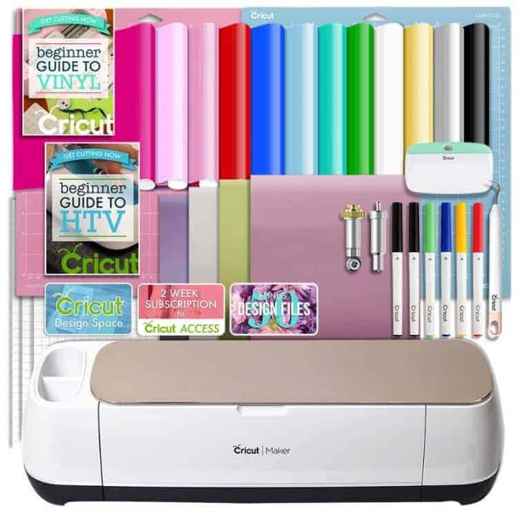 Cricut Maker HTV and Vinyl Bundle Sale