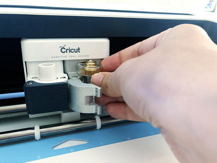 How to change Cricut Blades