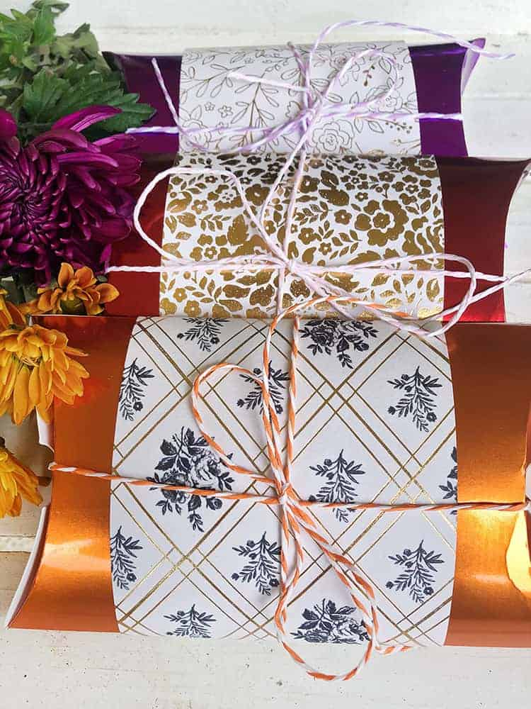Paper Gift Boxes Instructions