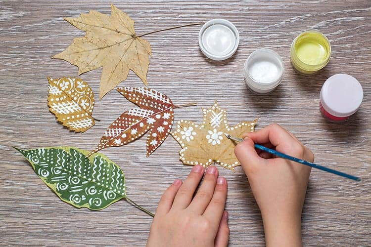 Easy Autumn Crafts for Kids