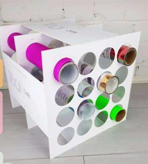 cricut vinyl roll holder