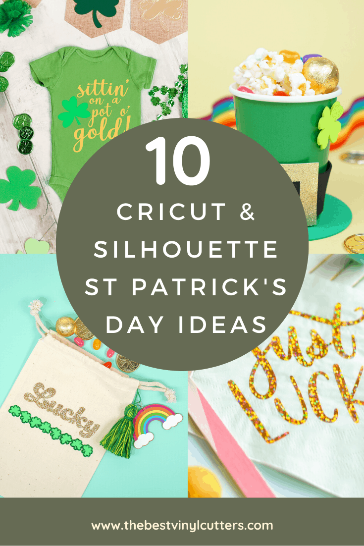 Cricut and Silhouette St Patrick's Day Craft Ideas