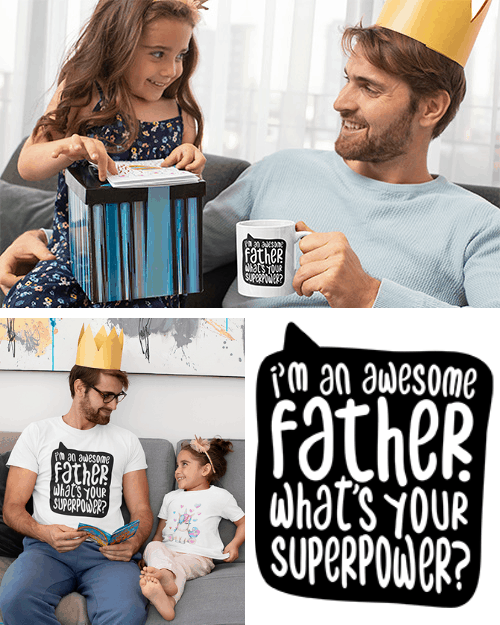 I'm an awesome father's day free svg