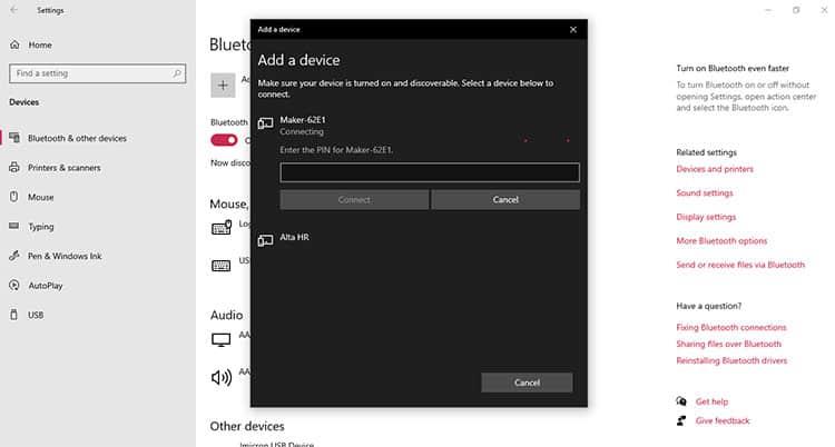 Bluetooth Code