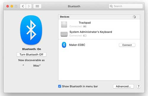 Bluetooth Mac