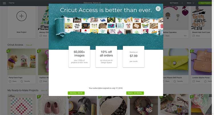 Cricut-Access-Membership