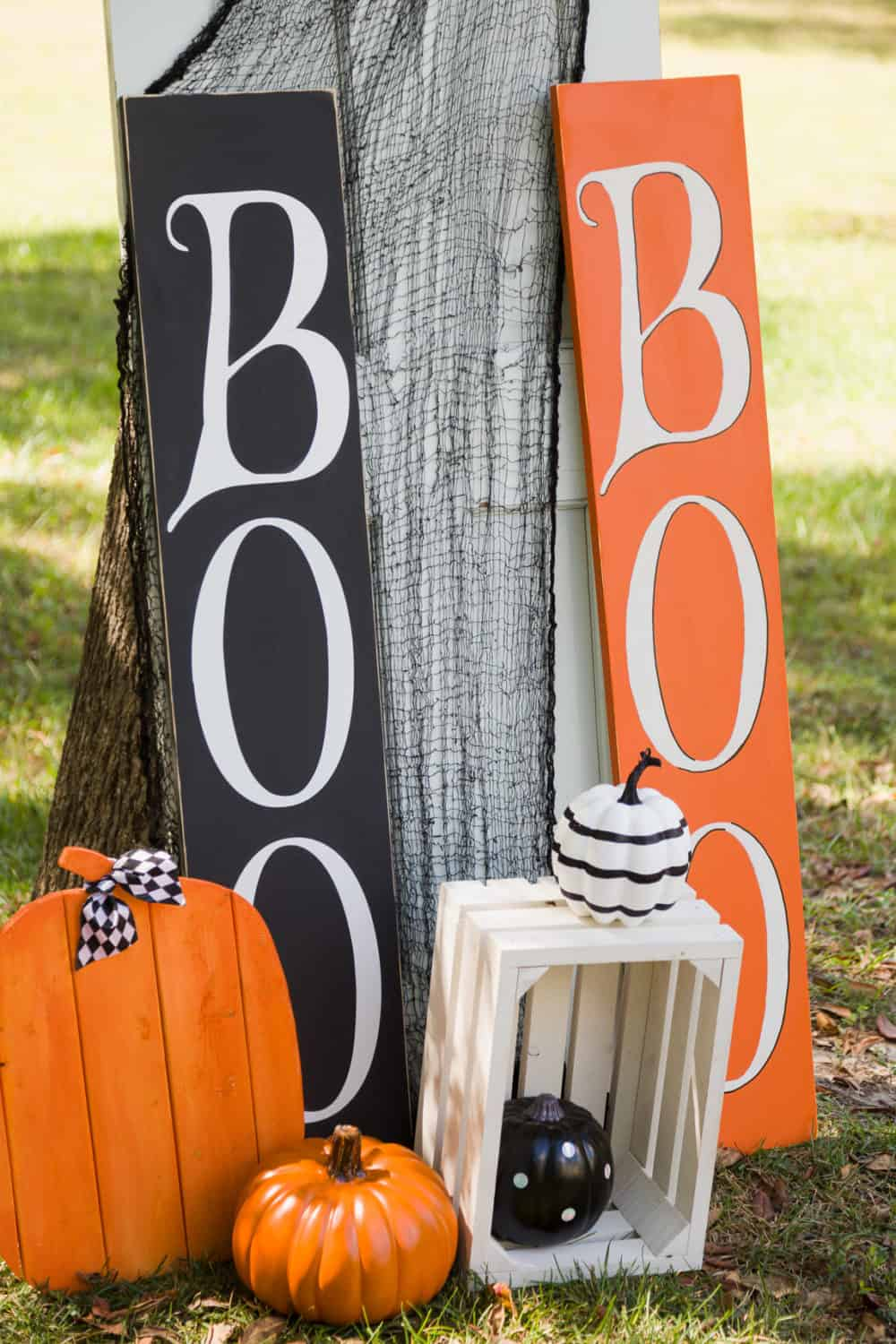 Front Porch BOO Sign