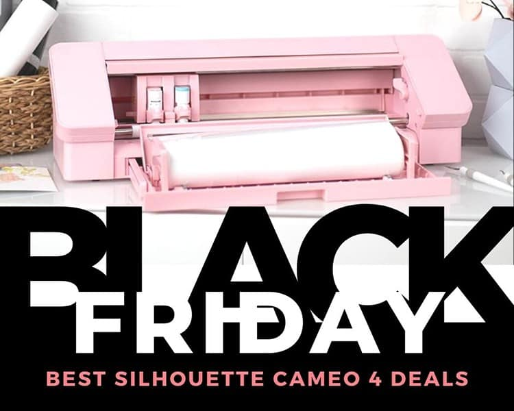 Silhouette Cameo 4 Black Friday