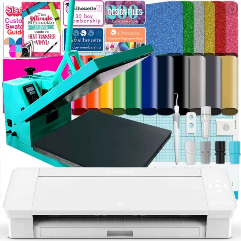 Cameo 4 plus heat press bundle deal