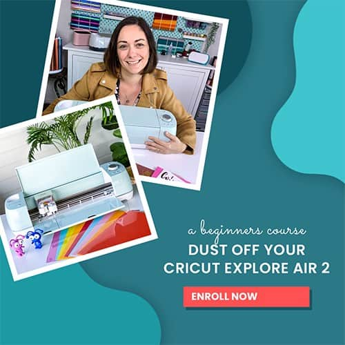 Cricut Explore Air 2 Course