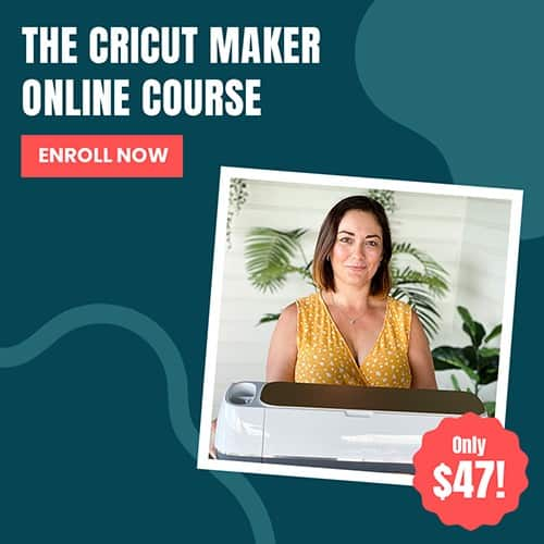 Cricut Maker Course