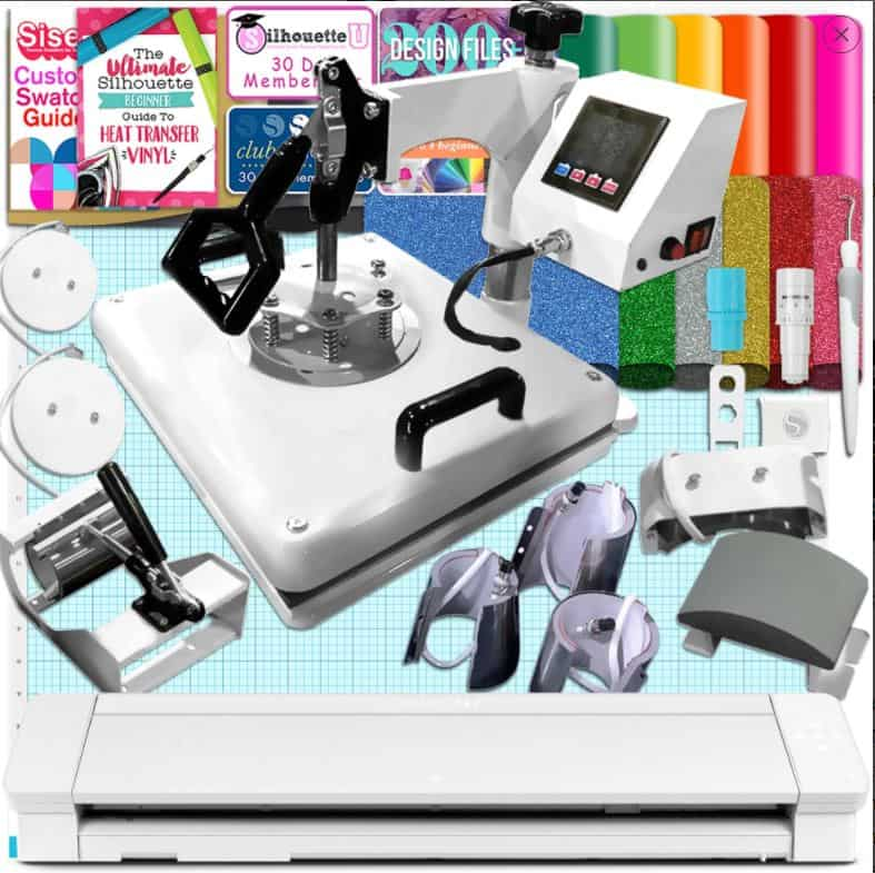 Heat Press Cameo 4 Bundle Sale