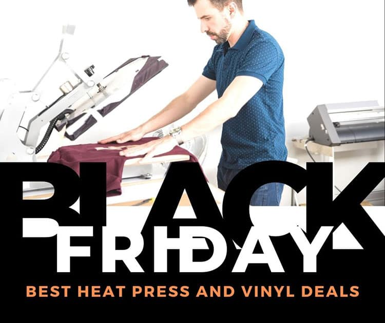 black friday heat press deals