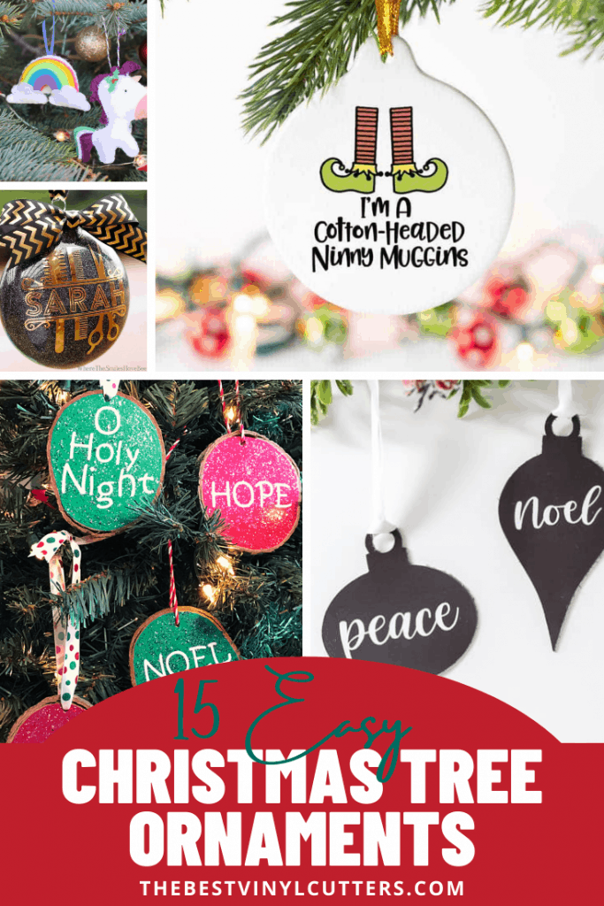 15 Easy Christmas Tree Ornaments