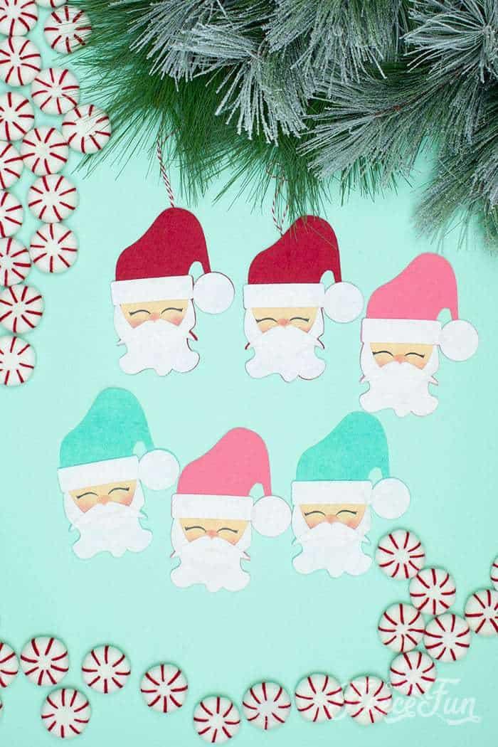 DIY Felt Santa