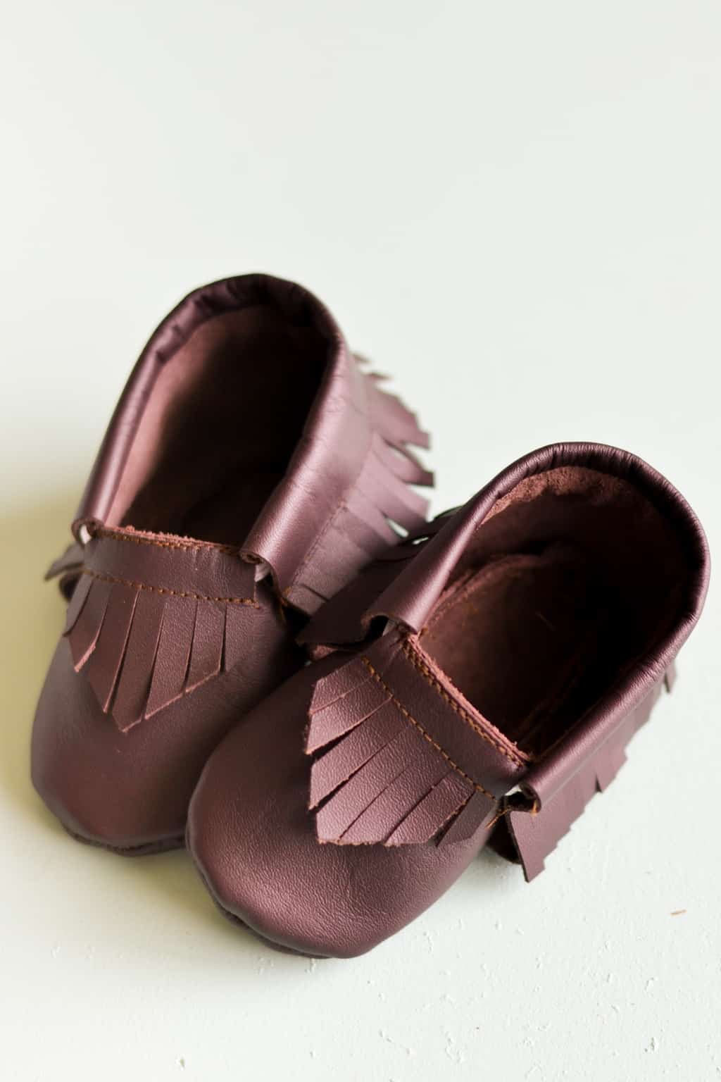 Every new mama in the world will want to purchase these absolutely adorable little baby moccasins!