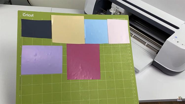 Vinyl on Cutting Mat