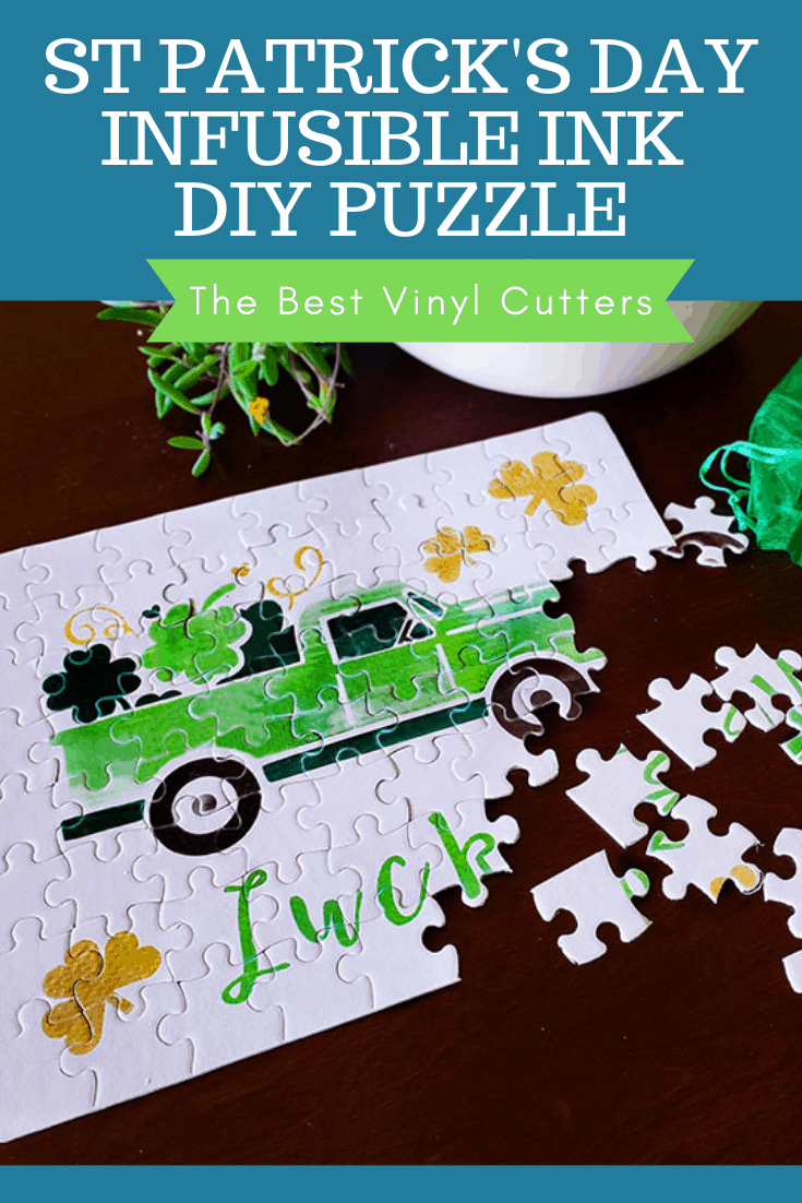 Use Cricut Infusible Ink to make a DIY Puzzle