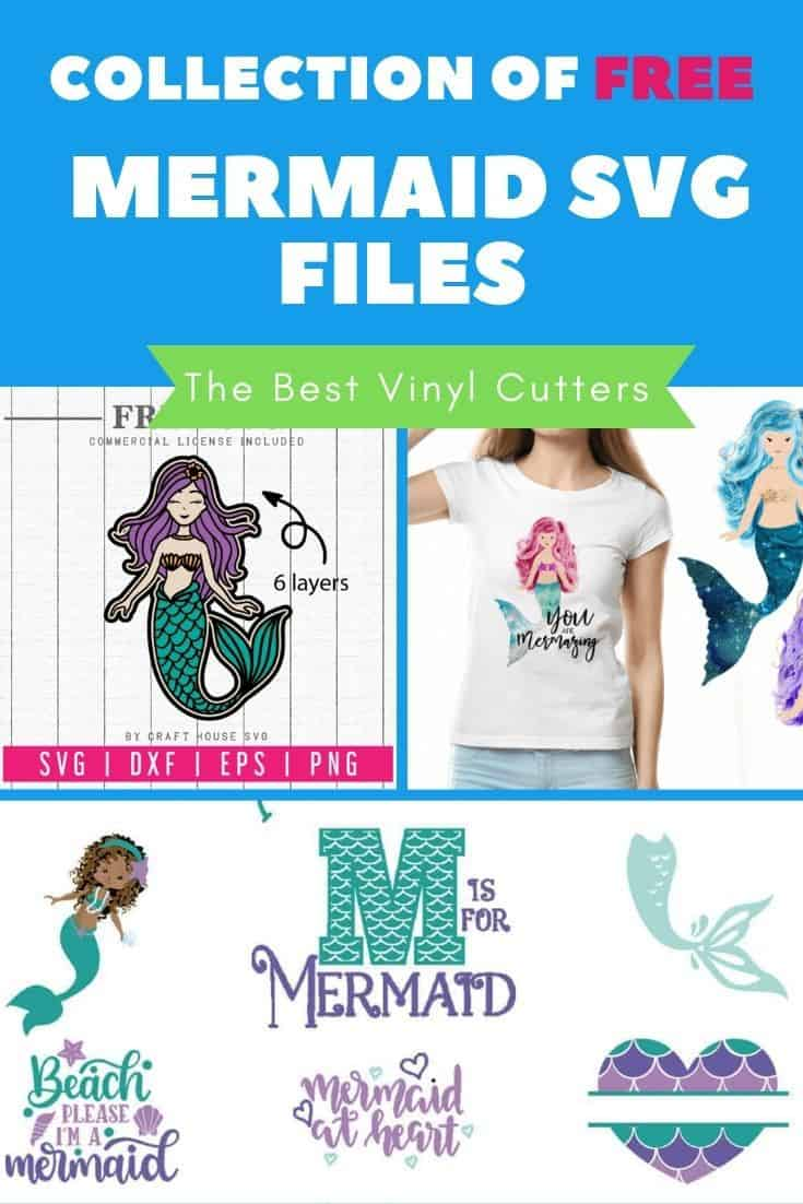 Collection of Free Mermaid SVG Files