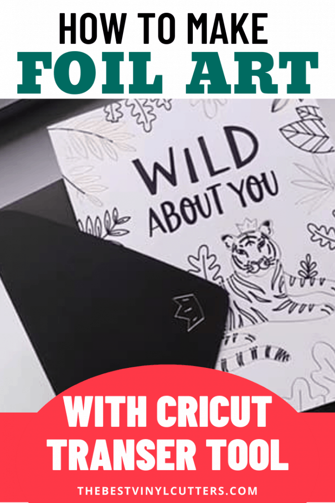 How to Make Foil Art with Cricut Transfer Tool