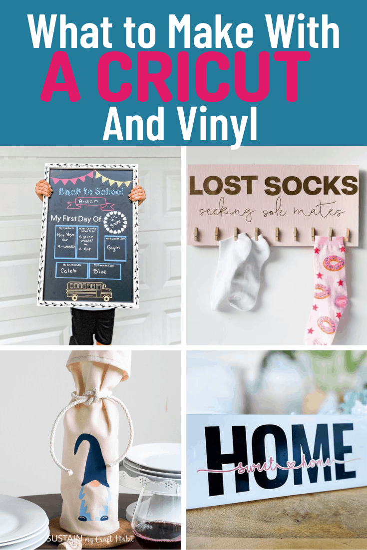What to Make with a Cricut and Vinyl
