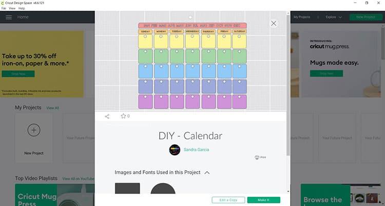 CDS-DIY-Calendar-Project
