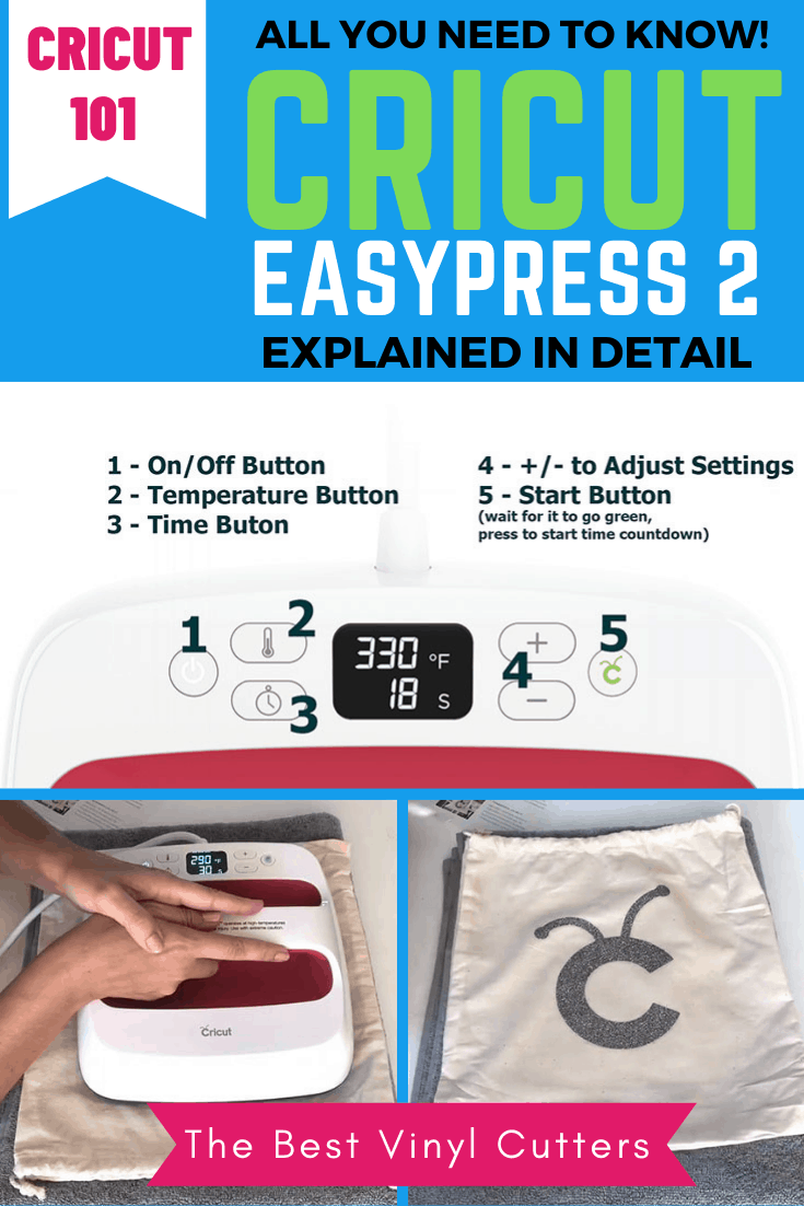 Cricut EasyPress 2 Explained in Detail