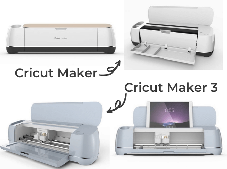Cricut Maker vs Cricut Maker 3