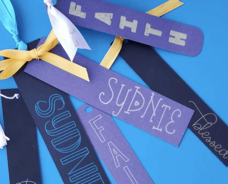 DIY Cricut Bookmarks