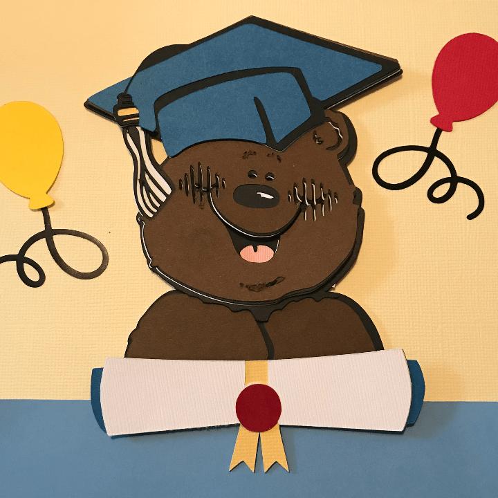 DJ-Inkers-Graduation-Bear-on-Kindergarten-Scrapbook-Page