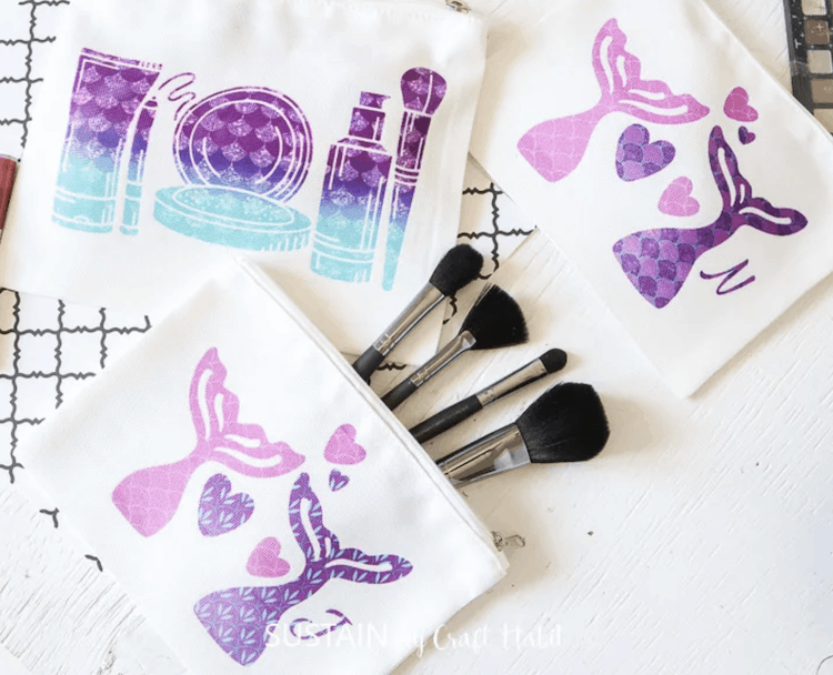 Infusible Ink Cosmetic Bag
