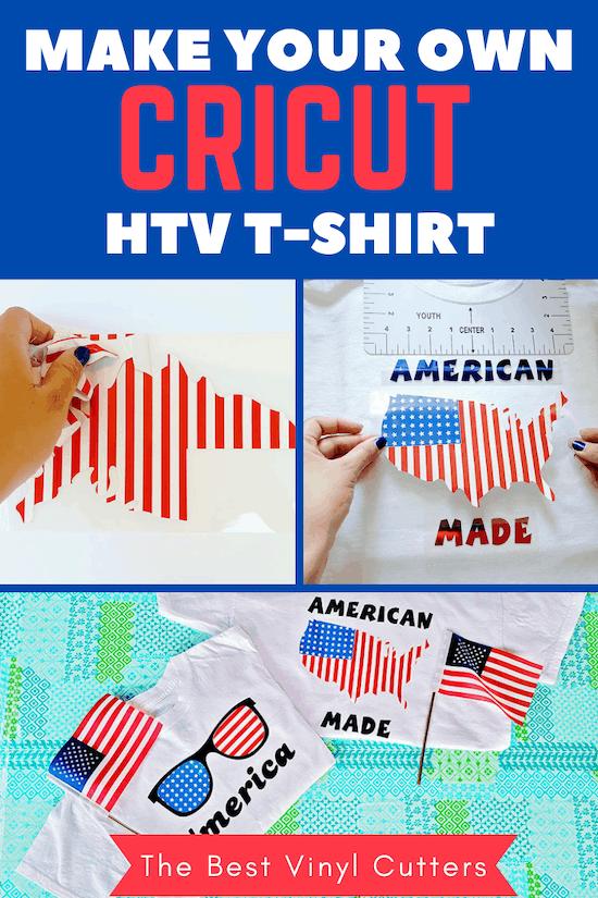 Make Your Own Cricut HTV Shirt