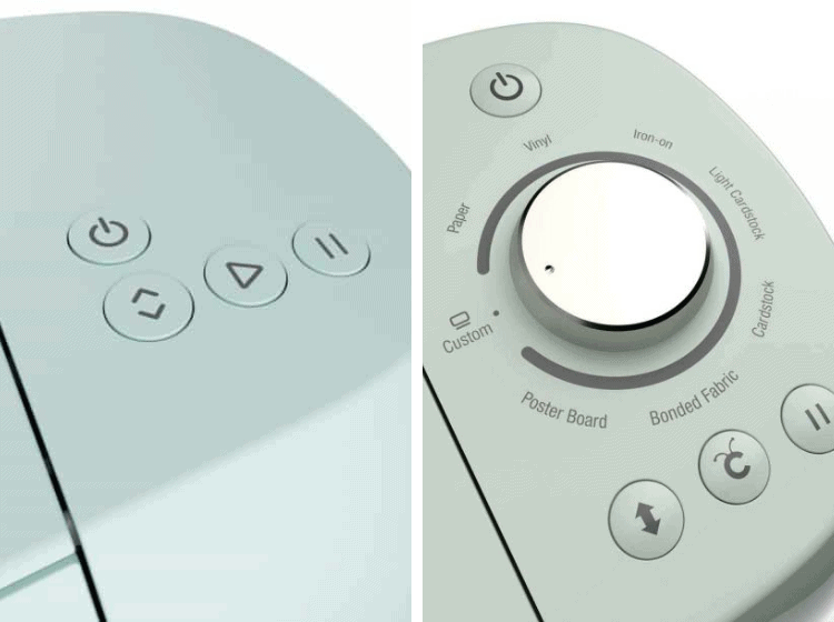 Old Smart Dial vs New Control Panel Buttons
