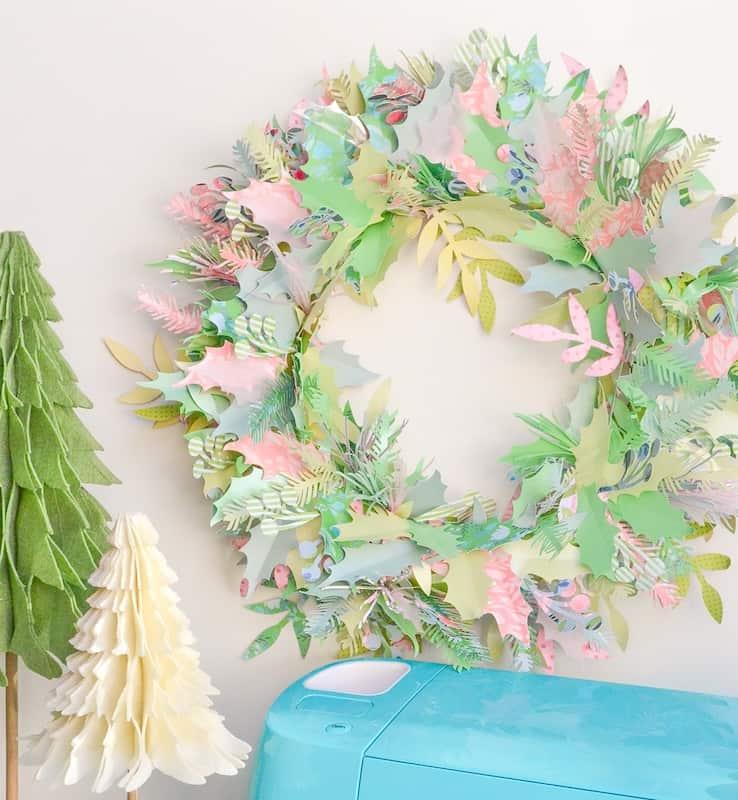 cricut-wreath