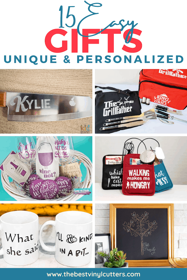 15 Easy Gifts Unique & Personalized