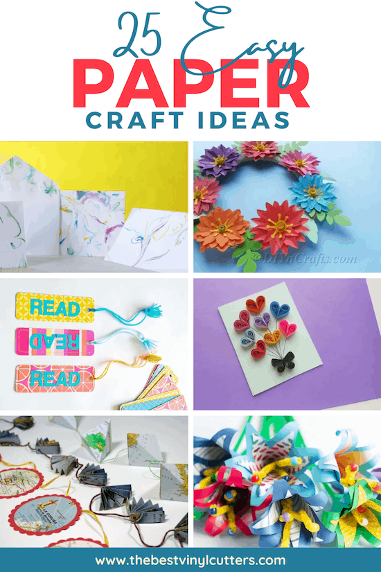 25 Easy Paper Craft Projects