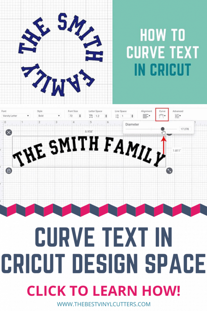Curve Text In Cricut Design Space Learn How