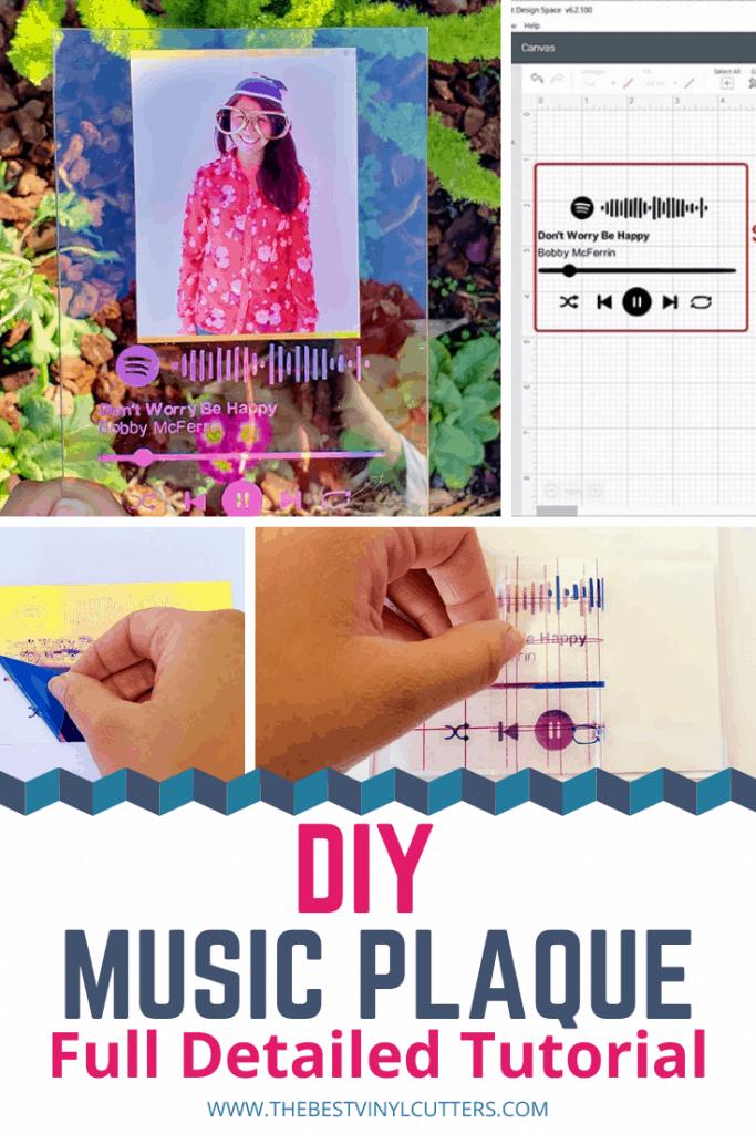 DIY Music Plaque Full Detailed Tutorial