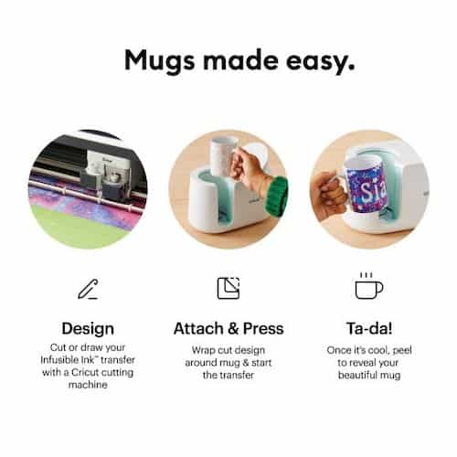 Easy Steps to use Mug Press