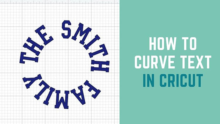 How to curve text in cricut design space