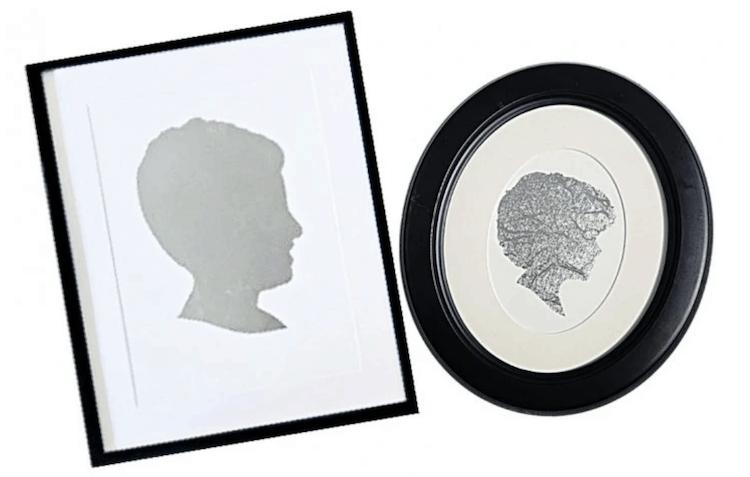 Silhouette Art Frames