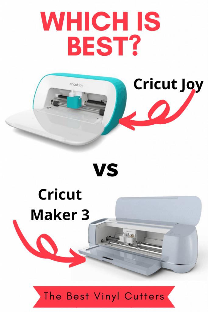Which is Best Cricut Joy vs Cricut Maker 3