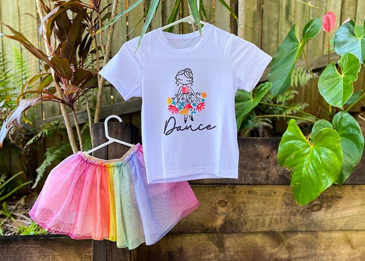 Cricut Infusible Ink Girl Shirt