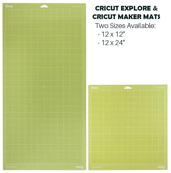 Cricut Mat Sizes